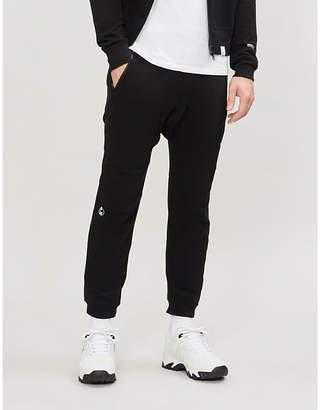 Magic Stick Contrast-stripe cotton-jersey jogging bottoms