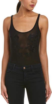 Bardot Mesh Bodysuit