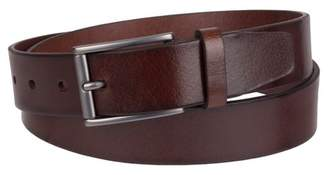 Merona Men's 35mm Elevated Non Reversible Belt With Heat Dome Mahogany $19.99 thestylecure.com