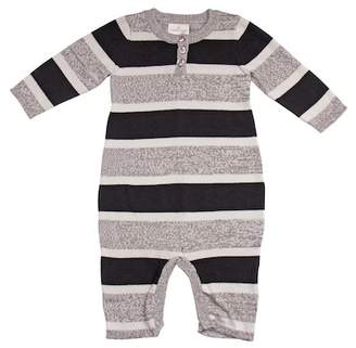 Cuddl Duds Striped Coverall (Baby Boys)