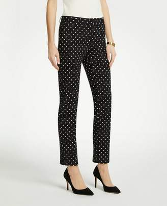 Ann Taylor The Ankle Pant In Polka Dot - Curvy Fit
