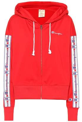 Champion Zip-front logo hoodie