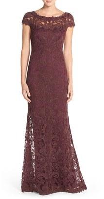 Women's Tadashi Shoji Illusion Yoke Gown $548 thestylecure.com