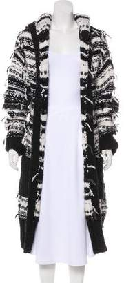 Edun Hooded Knit Cardigan