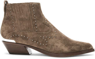 Rag & Bone Suede Westin Boots in Taupe Stud | FWRD