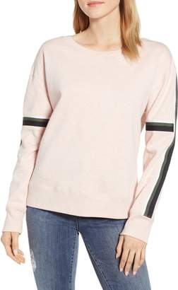 Sanctuary Backtrack Sport Stripe Sweatshirt
