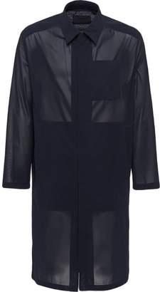 Prada Technical muslin raincoat