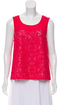 Marc by Marc Jacobs Eyelet Sleeveless Top