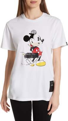 Rag & Bone JEAN Mickey Mouse Collage Unisex Cotton Tee