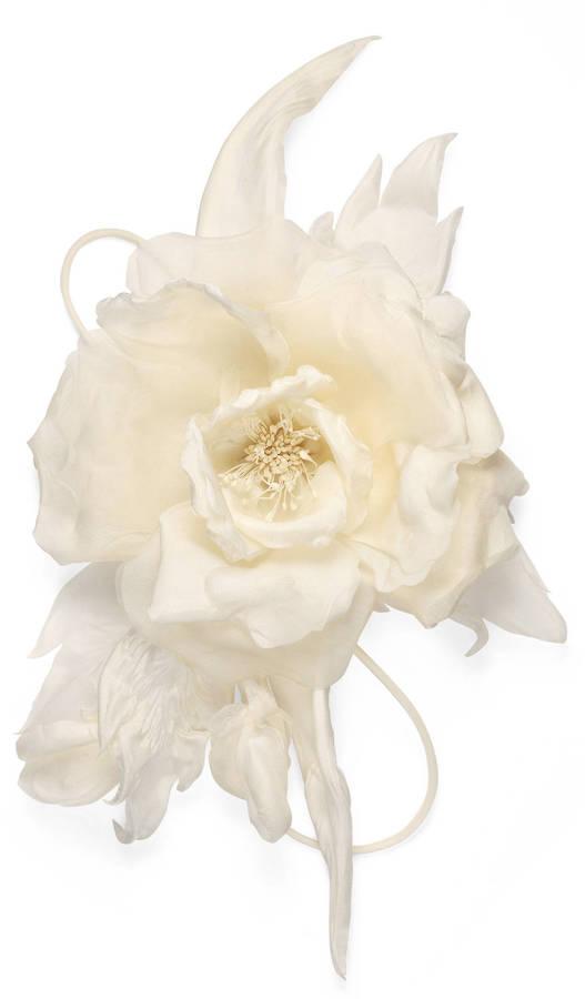 GucciFlower pin in silk