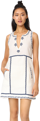 Ella Moss Marini Embriodered Dress $198 thestylecure.com