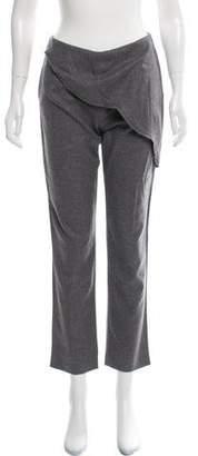 Fendi Wool Mid-Rise Pants