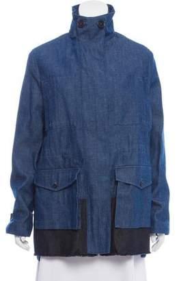 Proenza Schouler Denim Military Jacket