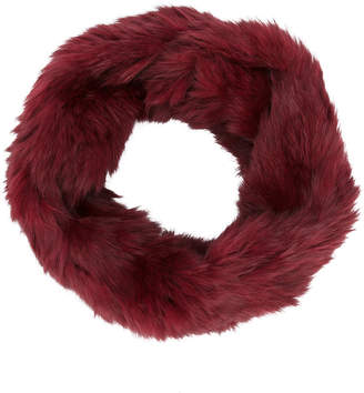 Yves Salomon rabbit fur scarf