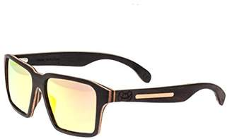 Earth Wood Piha Wood Sunglasses Polarized Wayfarer