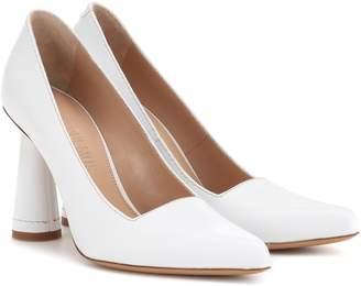 Jacquemus Les Chaussures Leon leather pumps