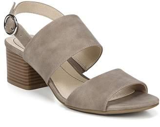 LifeStride Block Heel Open-Toe City Sandals - Roxanne