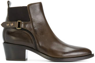 Sartore buckled ankle boots