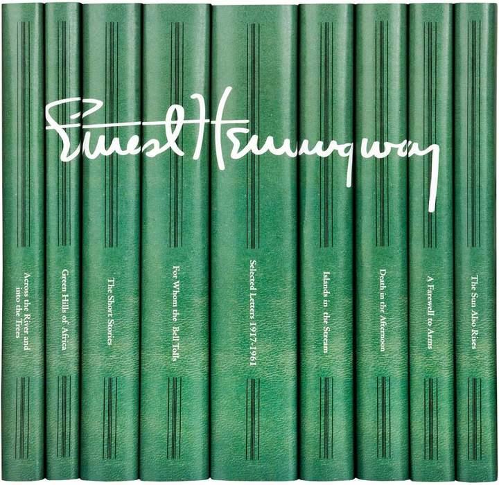 Ernest Hemingway Signature Book Set