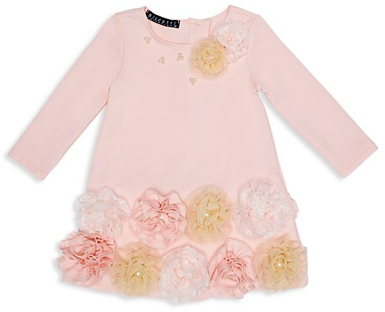 Biscotti Biscotti Infant Girls' Rosette Embellished Knit Dress - Sizes 12-24 Months