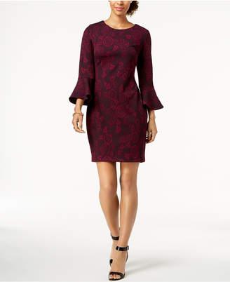 Tommy Hilfiger Jacquard Sheath Dress