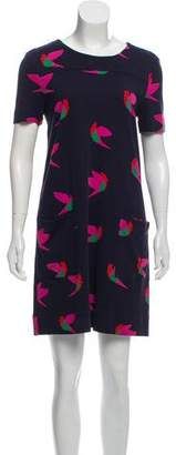 Marc by Marc Jacobs Mini Printed Shift Dress
