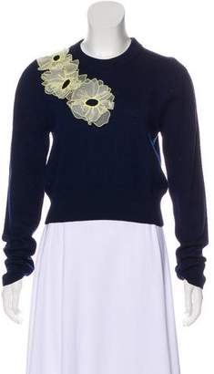 Roksanda Wool Embroidered Sweater