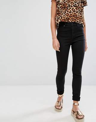 Monki Oki Skinny High Waisted Jeans