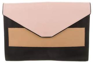 Narciso Rodriguez Leather Envelope Clutch