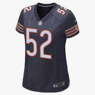 Nike NFL Chicago Bears (Khalil Mack) Women's Football Game Jersey