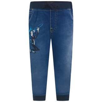 Dolce & Gabbana Dolce & GabbanaBaby Boys Blue Jazz Jog Jeans