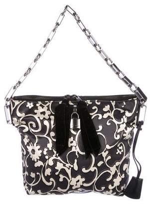 Marc Jacobs Printed Satin Handle Bag