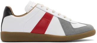 Maison Margiela Multicolor Colorblock Replica Sneakers