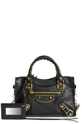 Balenciaga Metallic Edge Mini City Bag