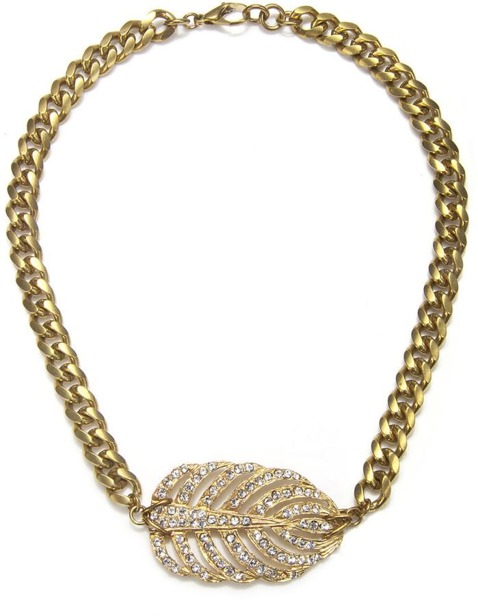 Lulu Frost Gold Single Drift Necklace