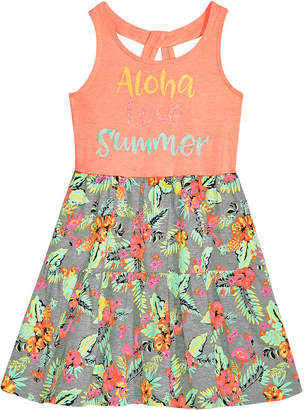 Epic Threads Toddler Girls Keyhole-Back Tank Dress, Created for Macy's