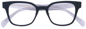 Celine square titanium glasses