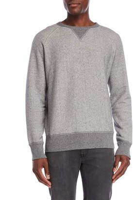 Rag & Bone Long Sleeve Racer Sweatshirt