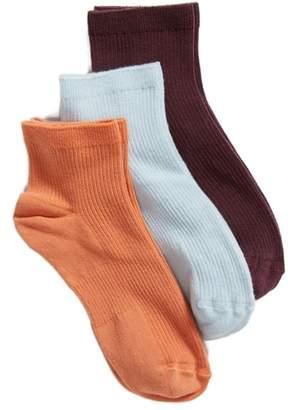 Treasure & Bond 3-Pack Favorite Ankle Socks