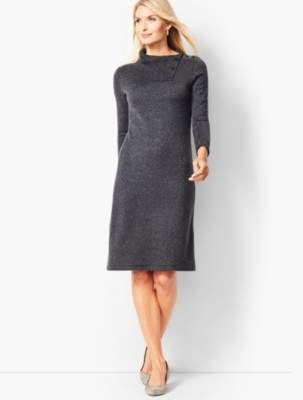 Talbots Donegal Cowlneck Sweater Dress