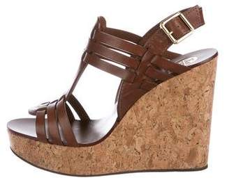 Tory Burch Sienna Platform Wedges w/ Tags