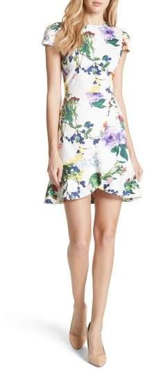 Kirby Ruffled Floral Dress