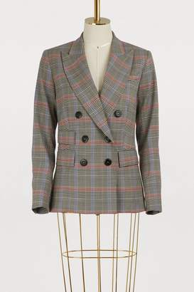 Ines De La Fressange Paris Maurice double-breasted wool jacket