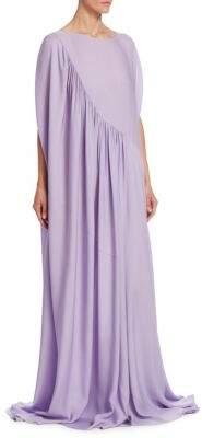 The Row Medea Silk Ruffle Gown