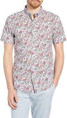 Bonobos Riviera Slim Fit Floral Print Cotton Sport Shirt
