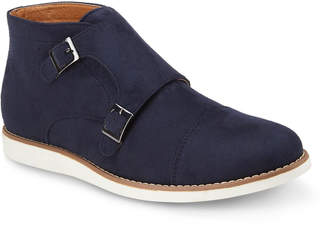 Reserved Footwear Men's Ballaster Double-Monk Dress Boots
