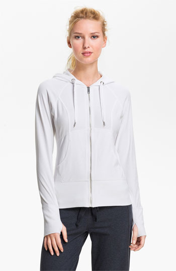 Zella 'Supersoft' Hoodie White Medium