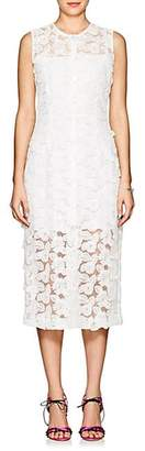 Barneys New York Women's Floral-Lace Dress - White