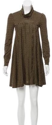 Diane von Furstenberg Mini Printed Dress
