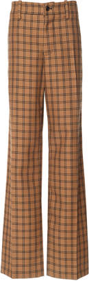 Marni Plaid Virgin Wool Trousers